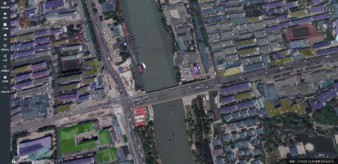 Wish3D Earth苏州城市街区管理案例