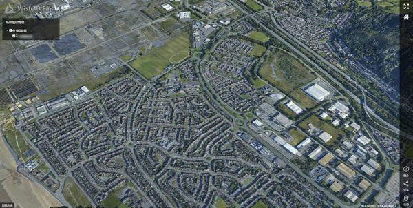 城市范围大规模倾斜摄影模型