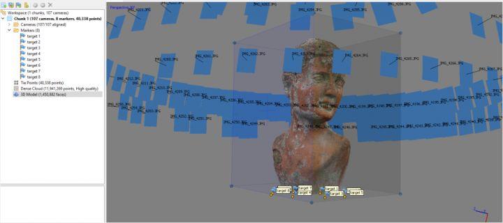 Photoscan建模操作流程