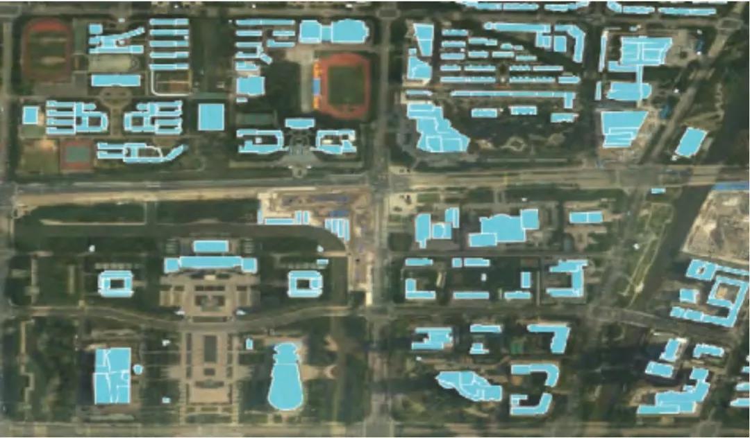 道路线路规划使用了实景三维模型技术